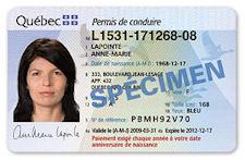 Permis de conduire du Quebec